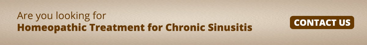 Homoeopathic Treatment for Chronic Sinusitis