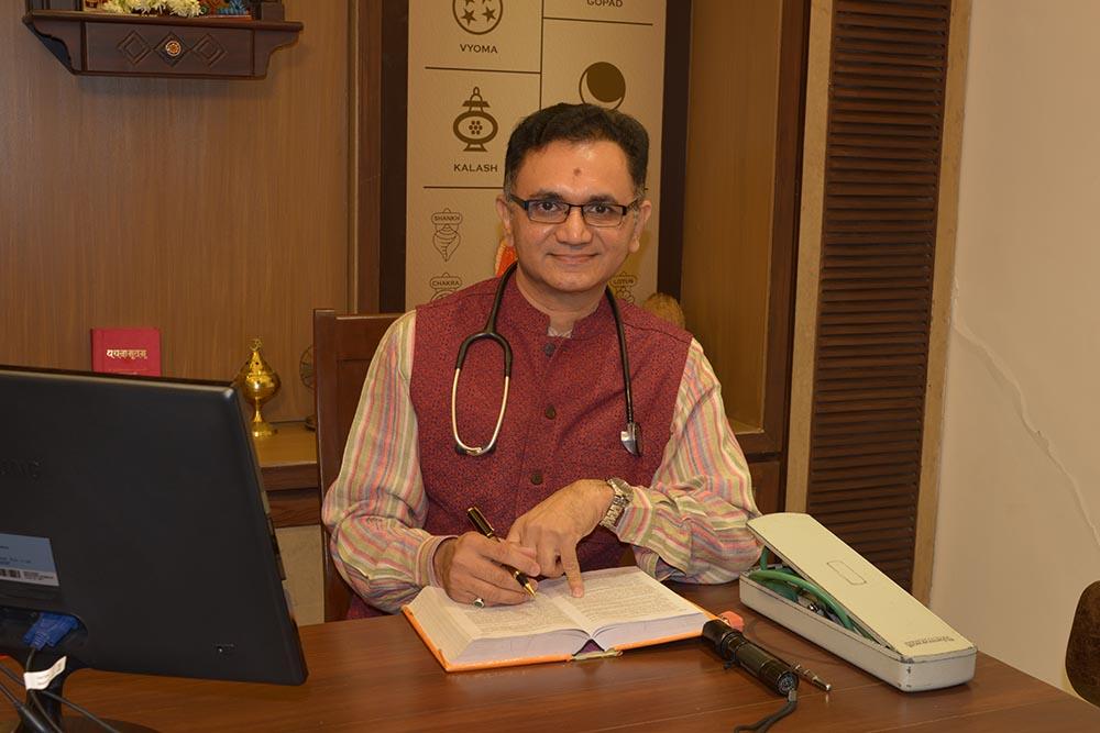 Homeopathy Doctor in Vadodara - Dr. Mahavrat Patel