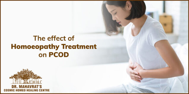 The effect of homoeopathy treatment on PCOD