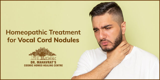 Homeopathic Treatment For Vocal Cord Nodules